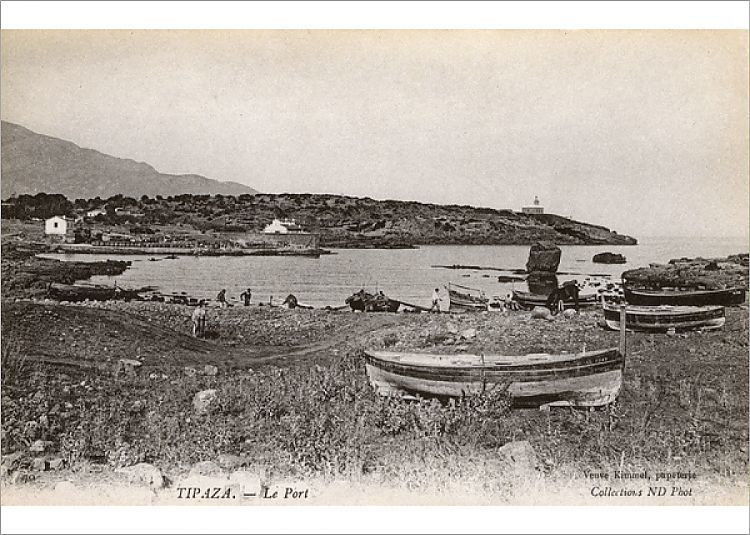 Photograph-View of the port, Tipaza, Algeria, North Africa-7