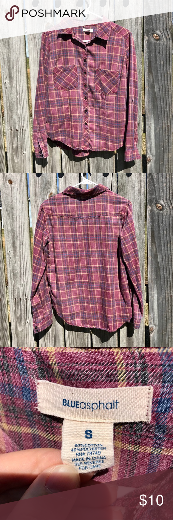 Red flannel unbuttoned  Wet Seal Flannel  Wet seal Flannels and Blue yellow