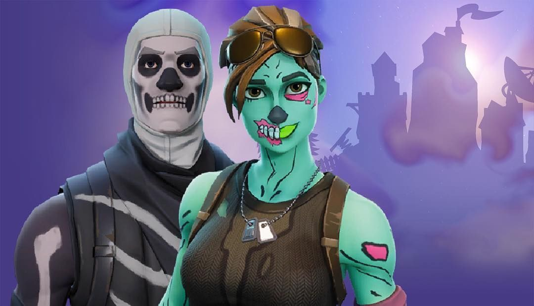 Female Ghoul Trooper In 2019 Creepy Costumes Epic Games