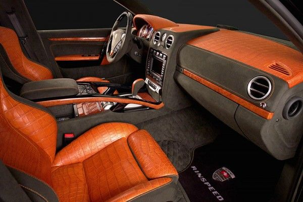 Porsche Cayenne Crocodile Tuning 2007 Car Interior Decor Car