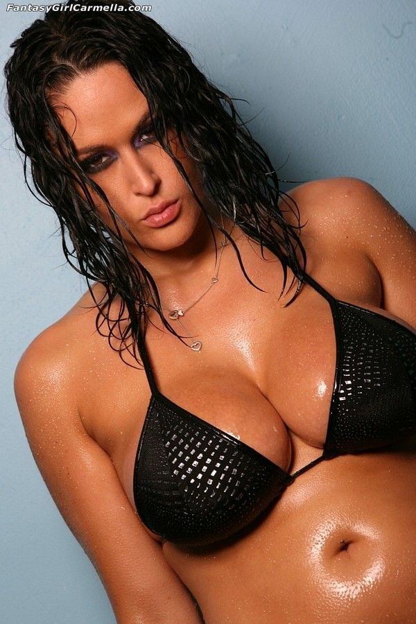 Bikini Carmella Blue Vids Lube Bing