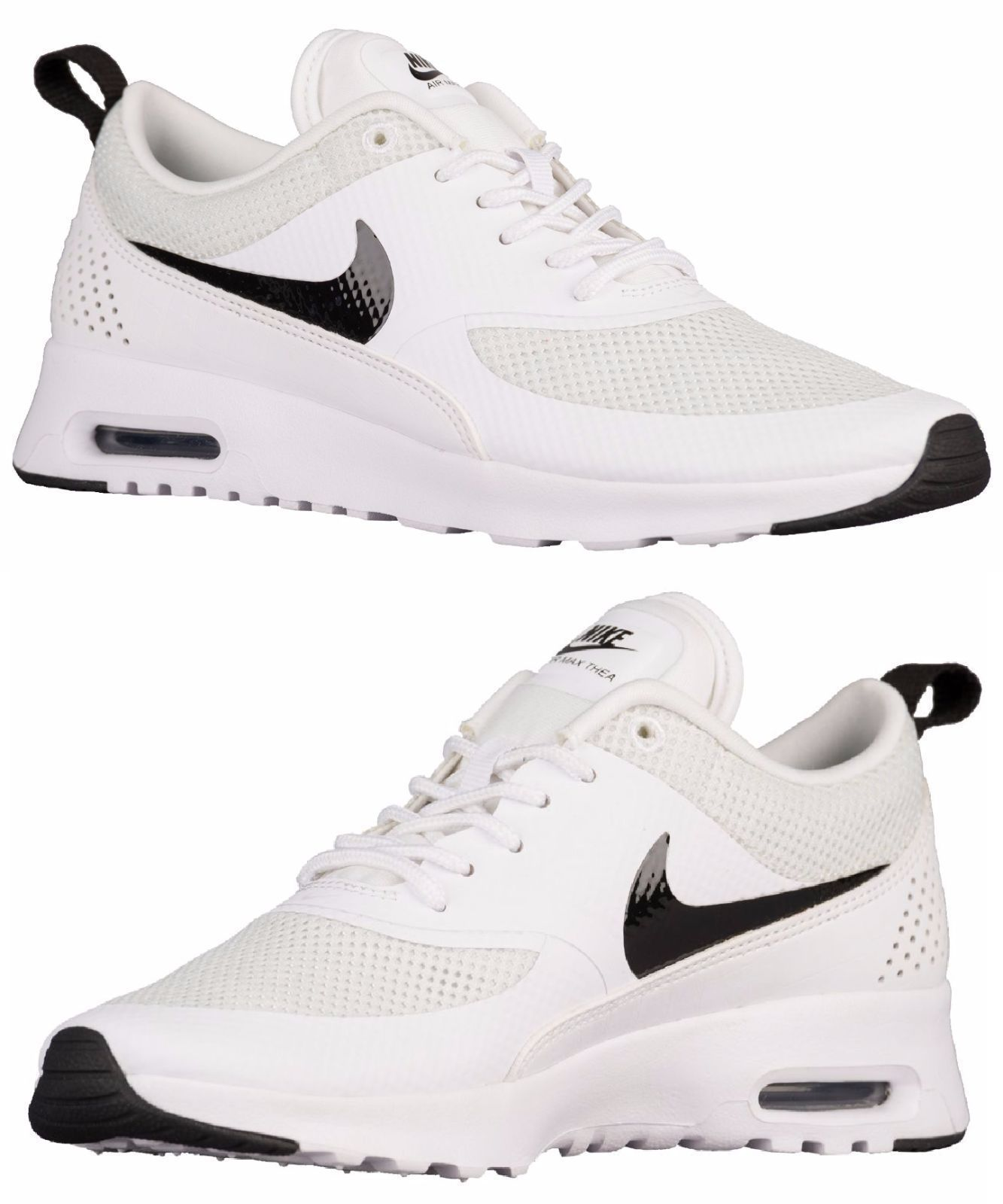low priced 161e0 51c2d Nike Air Max Thea Women S Running White - Black - Pure Platinum Authentic  Usa Sz