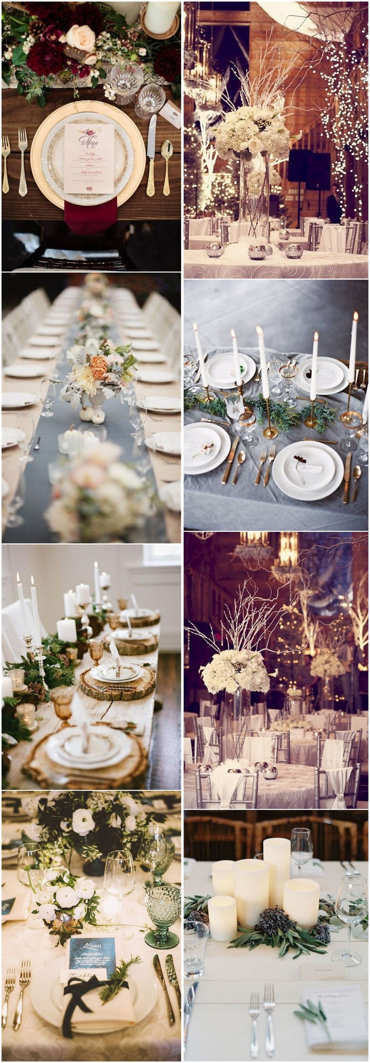 Wedding Decorations Romance And Warmth 29 Genius Winter Wedding Table