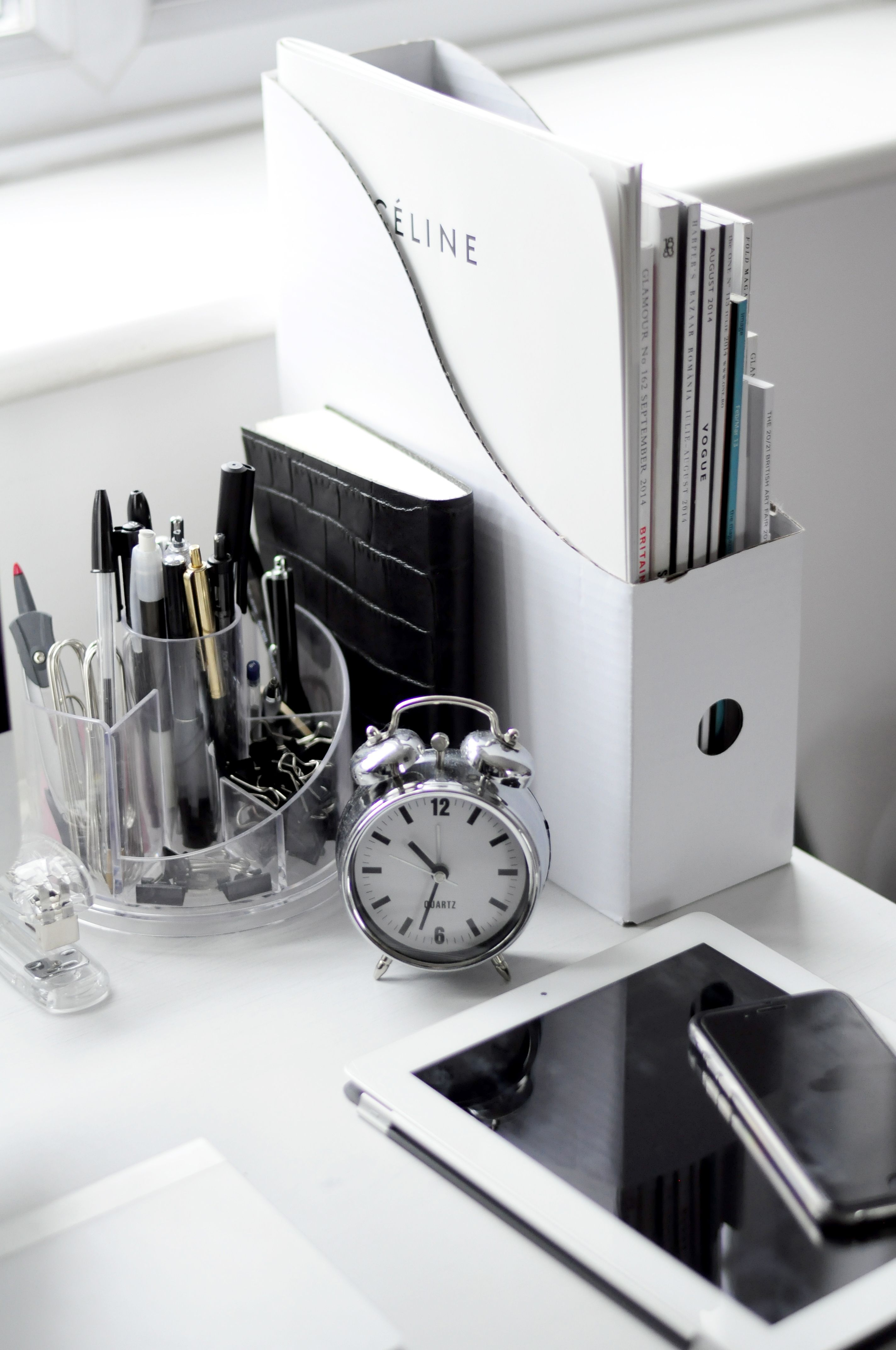 Black And White Workspaces Homey Oh My Minimalism Interior