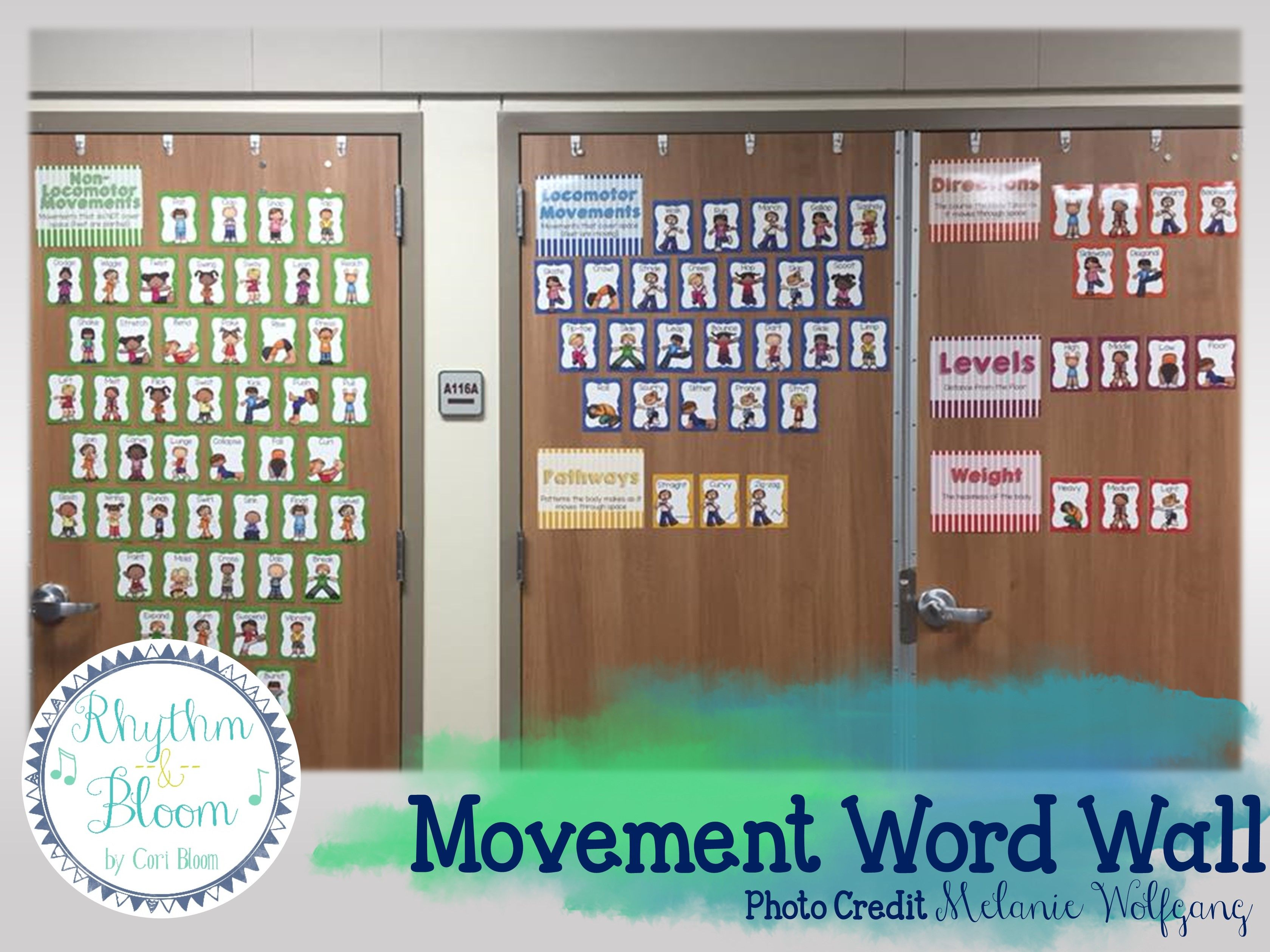 Movement Cards & Word Wall Music
