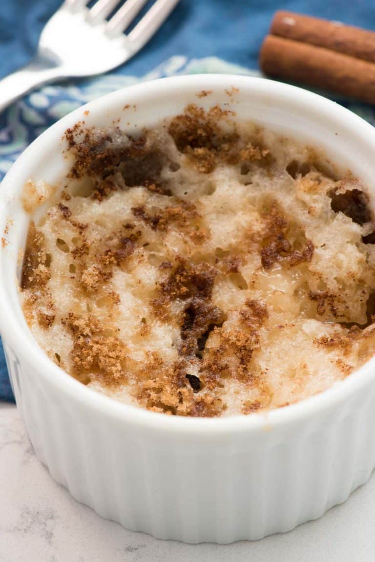 SingleServe Mug Coffee Cake Crazy for Crust Recipe