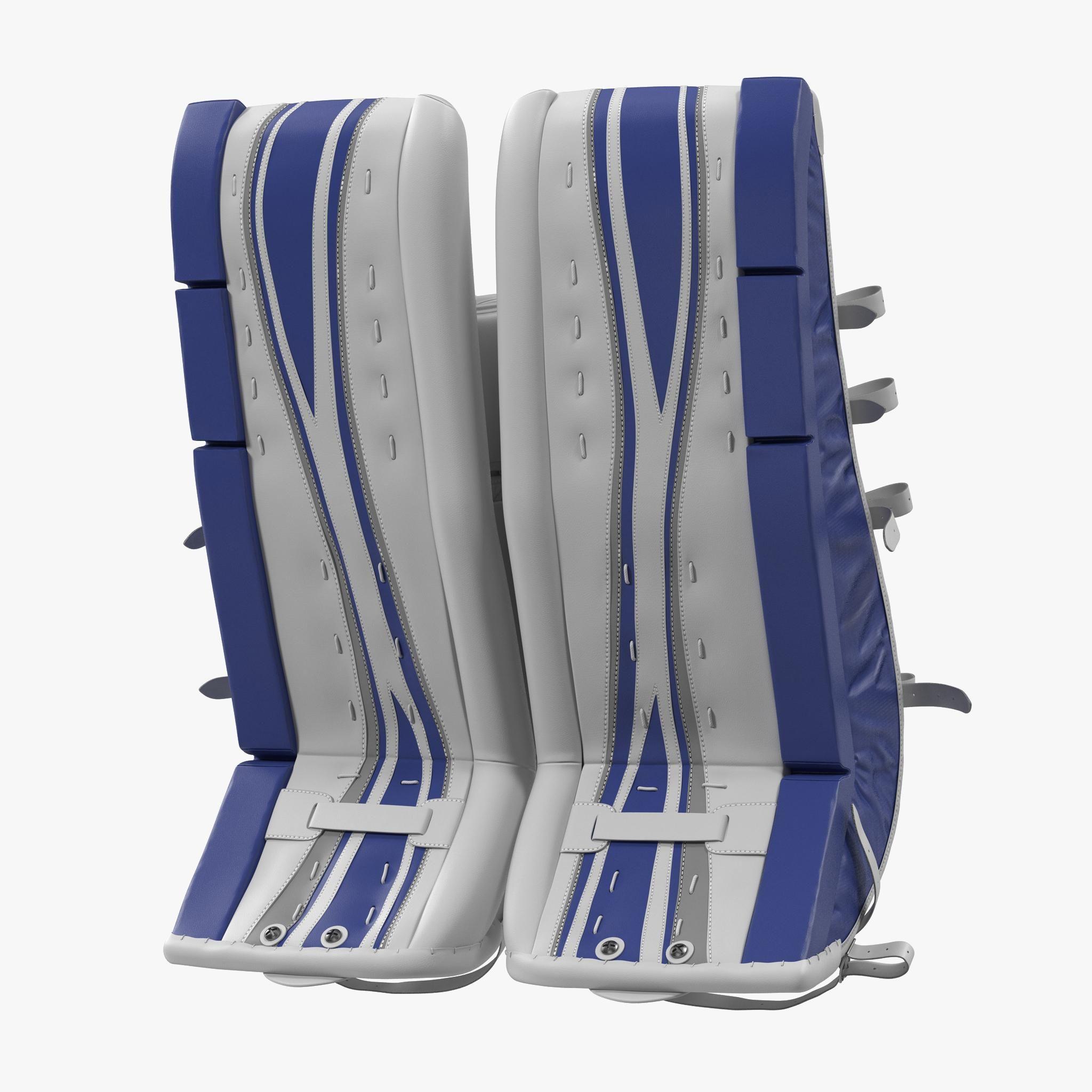 Hockey Goalie Leg Pads Generic 3d Model Ad Leg Goalie Hockey Model Hockey Goalie Goalie Hockey