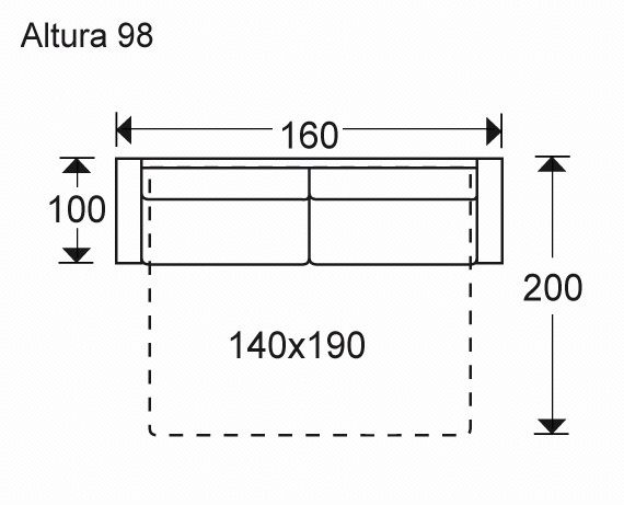 medidas de un sofa cama buscar con google medidas