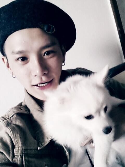 donny and doggy :)