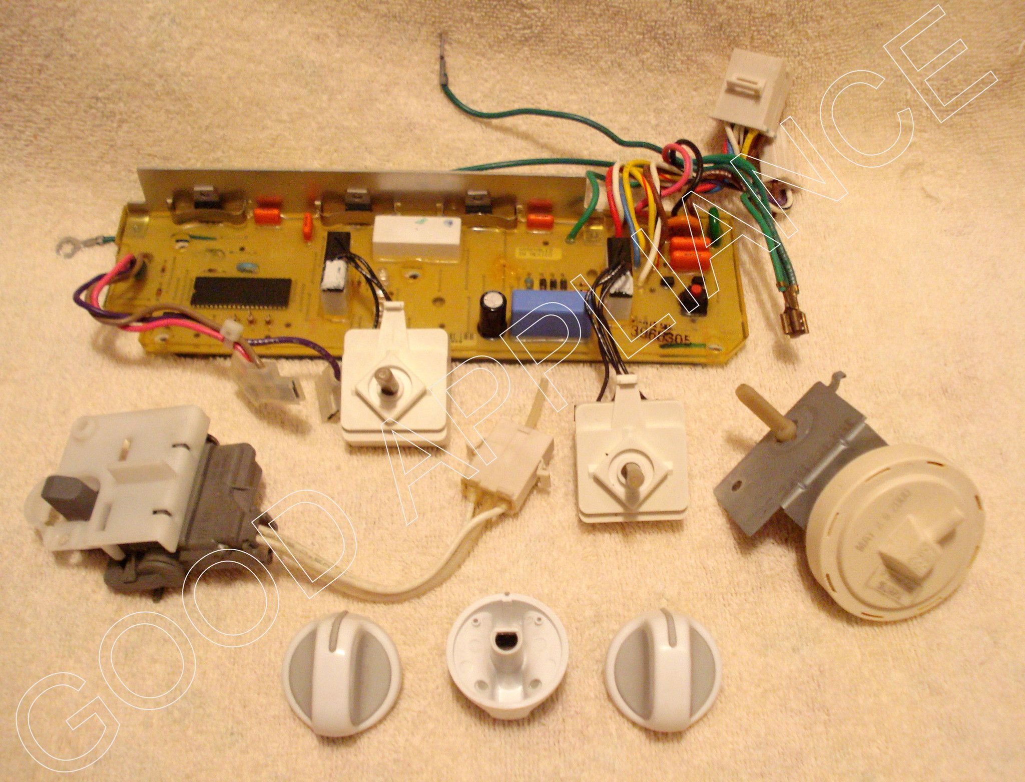 kenmore whirlpool washer electronic control board switch and knob set appliance machines