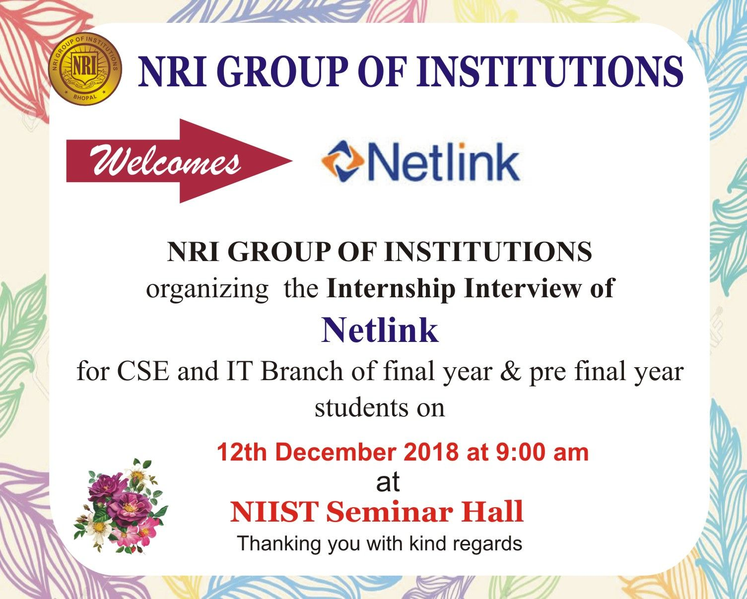 Internship Interview Of Netlink Internship Interviews Top
