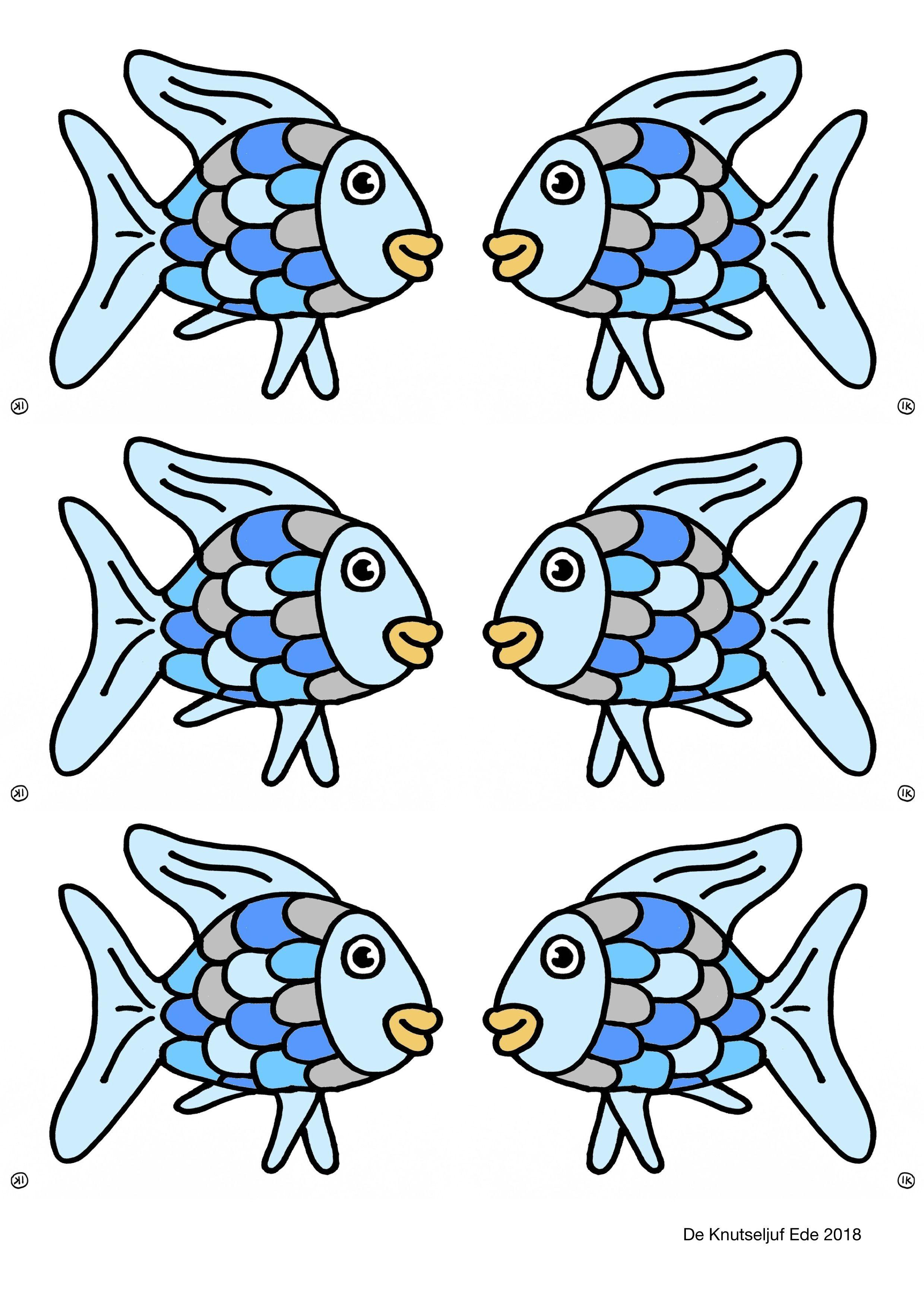 De Mooiste Vis Van De Zee Knutselen Het Mooiste Visje Van De Zee Knutselen Vissen Maken Van Papier Vis Onderwater Thema Vissen