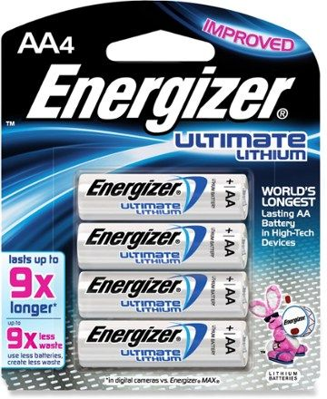 Energizer Ultimate Lithium Aa Batteries Package Of 4 Rei Co Op