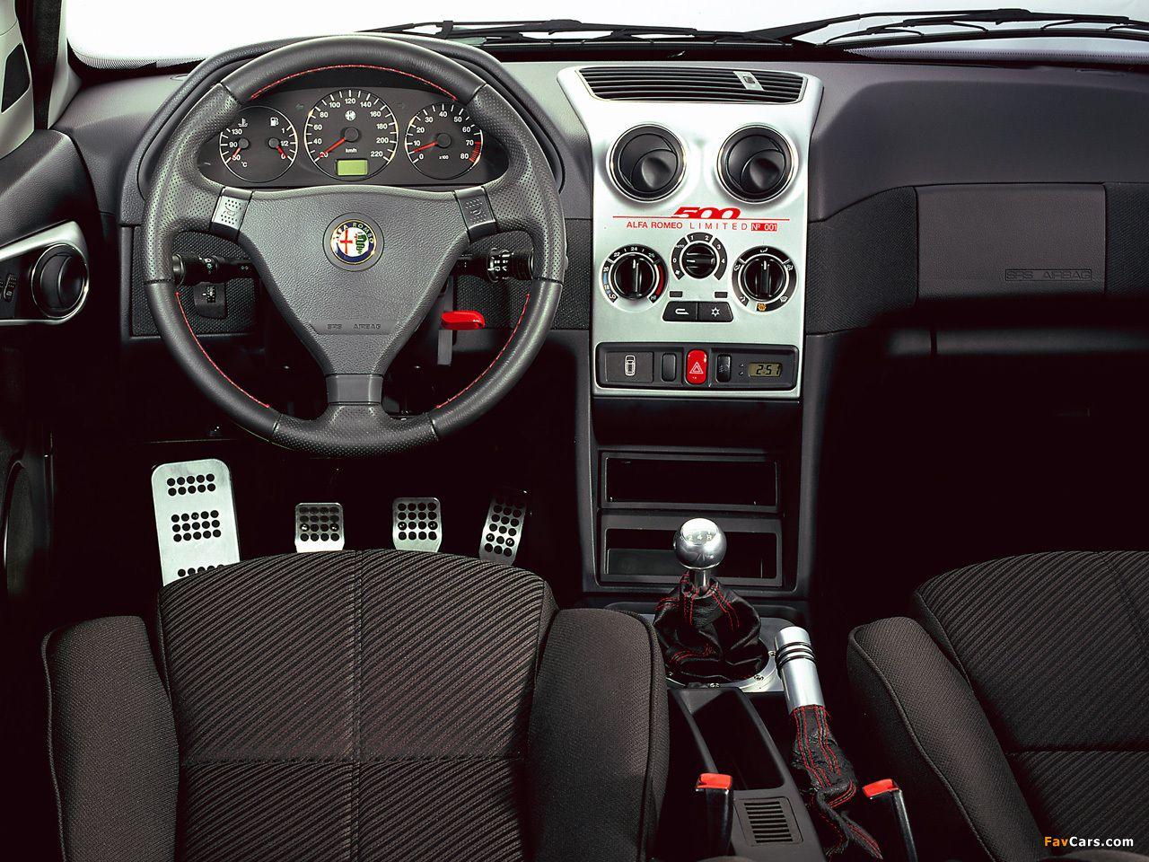 Alfa romeo 145 limited 500 930a 2000