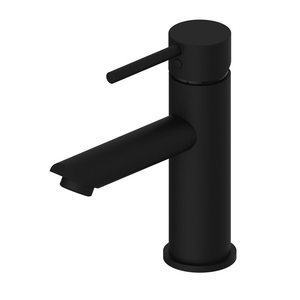 Bathrrom LUXE BASIN MIXER TAP, HOT AND COLD FAUCET, MATTE BLACK ...
