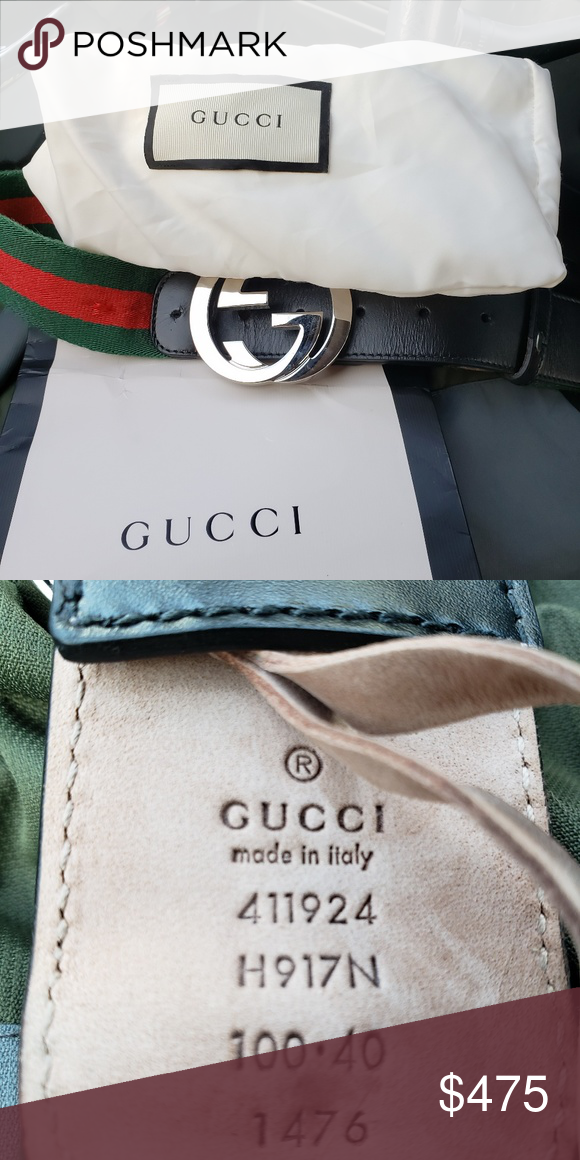 276fce53a32 Authentic Gucci Belt Purchased in Europe during trip Gucci Accessories Belts