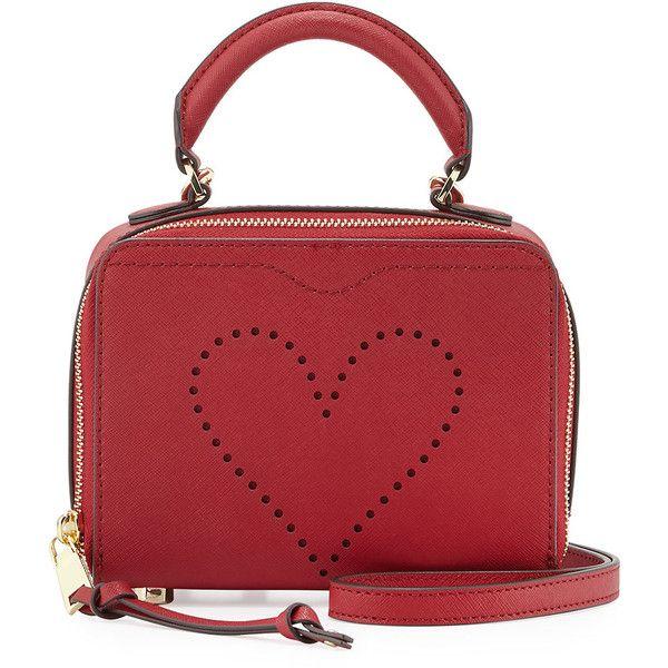 3cfb77a53f26 Rebecca Minkoff Love Perforated Box Crossbody Bag (3