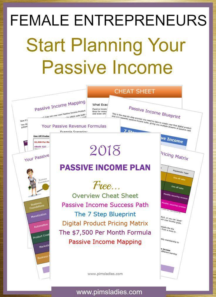 Free passive income starter pack worksheet planner blueprint free passive income starter pack worksheet planner blueprint creating passive income streams for female entrepreneurs malvernweather Gallery