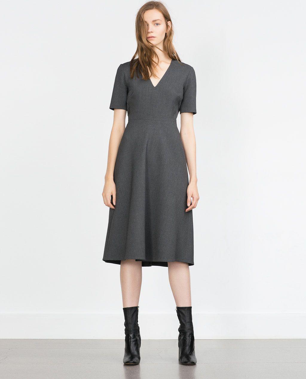 Zara mujer joven vestidos