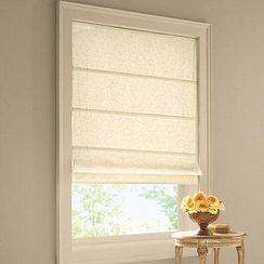 Joanna Jacquard Light Filtering Roman Shade With Images