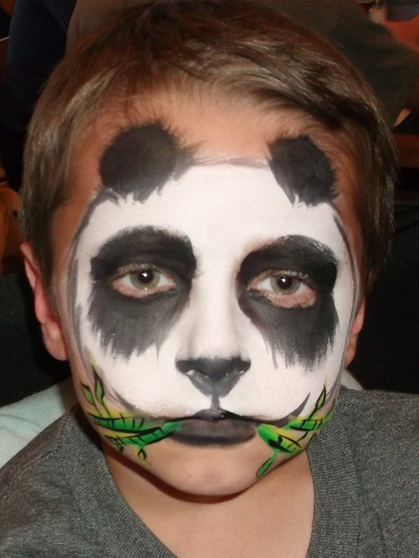 Image result for panda halloween makeup | My Holidays ...