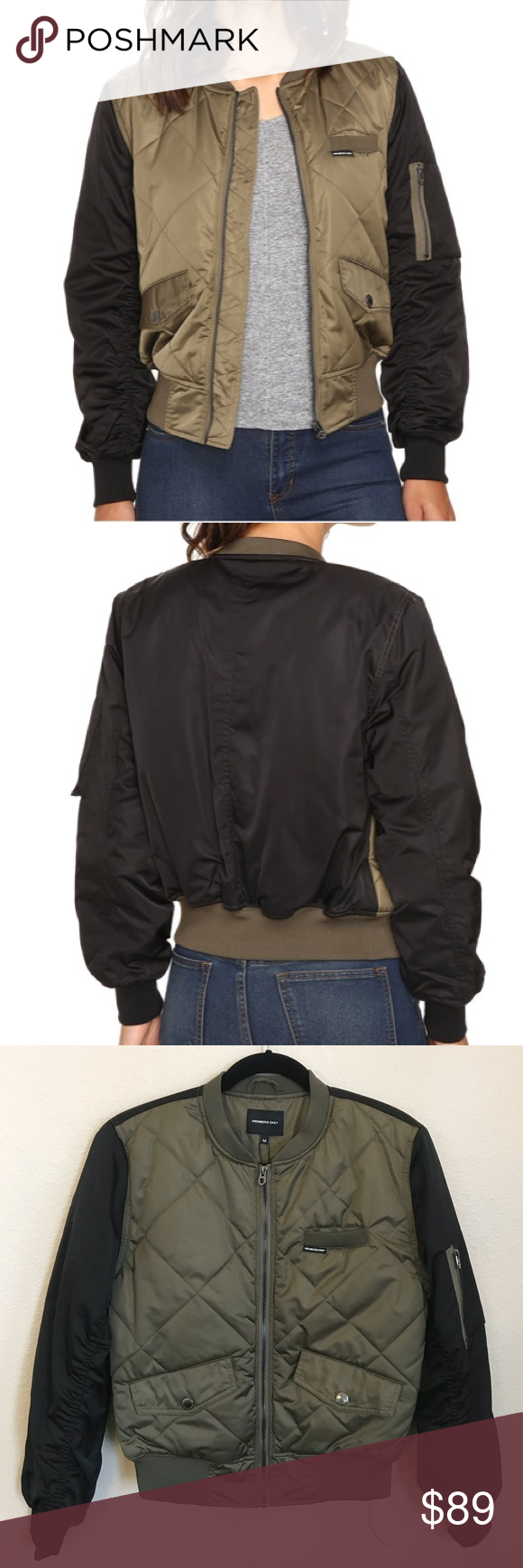 Members Only Olive Quilted Bomber Jacket Quilted Bomber Jacket Bomber Jacket Quilted Bomber [ 1740 x 580 Pixel ]