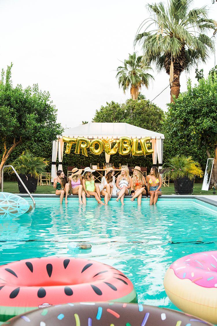 Palm Springs Bachelorette Party Weekend Getaway