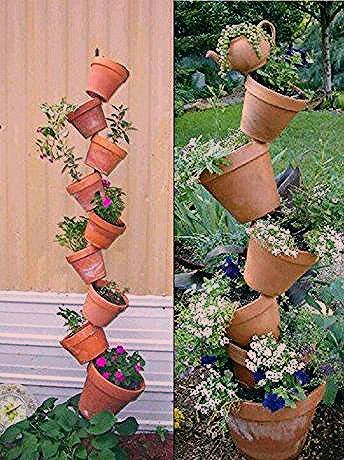 Photo of DIY Garten Dekoideen mit Tontöpfen, die man ganz leicht selber machen kann