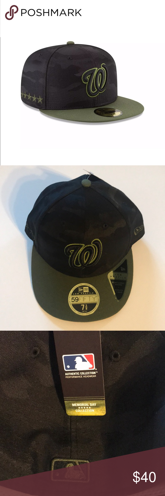 ab155838 New Era Washington Nationals MLB Memorial Day Hat •NWT MLB ...