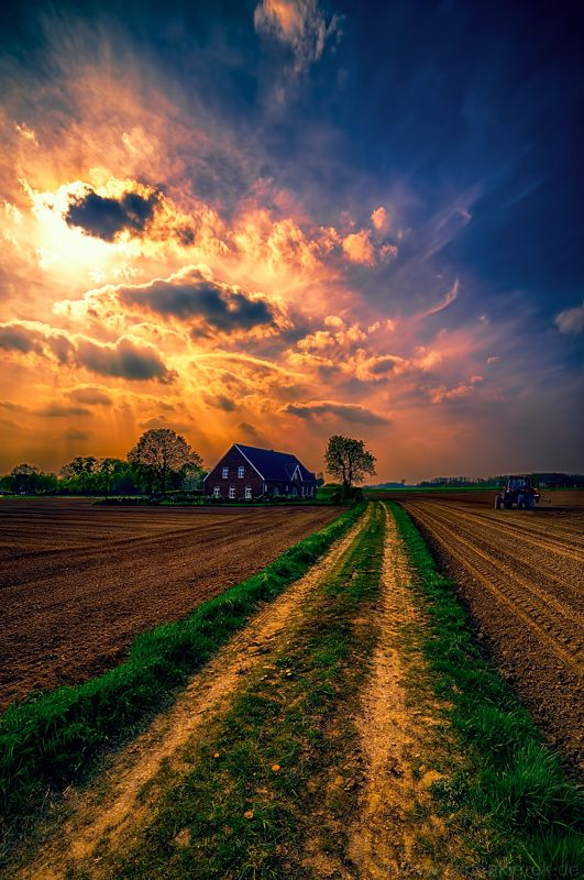 Artistic Realistic Nature A Path To The Farm By Stefan Kierek On 500px Nature Photography Beautiful Landscapes Nature