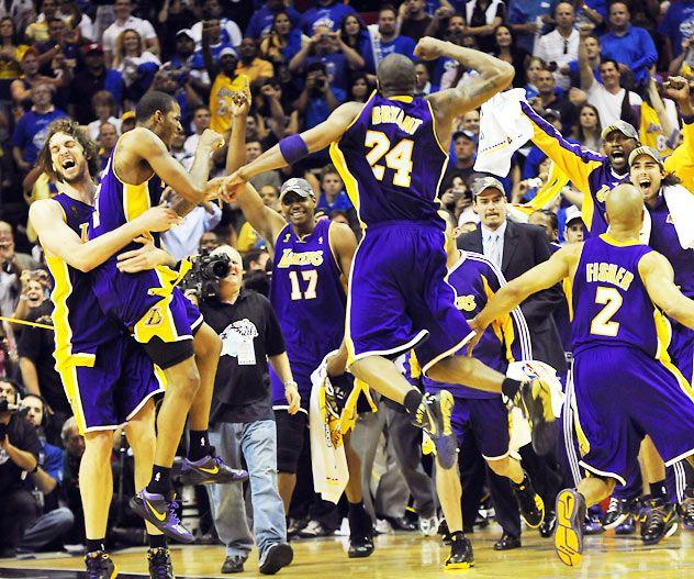 2009 Nba Finals, Los Angeles Lakers