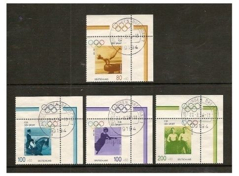 Germany 1996 Modern Olympic Games SET F U SG 2721 4 | eBay