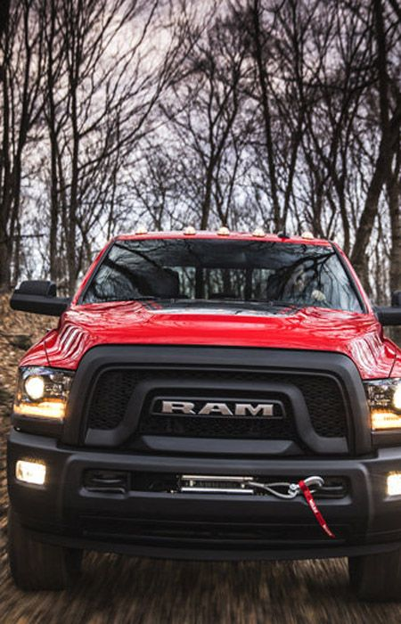 The 2017 Dodge Ram Power Wagon is an off-road beast.