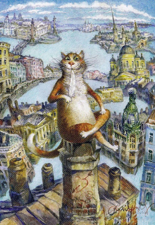 Картинки для декупажа смешные коты