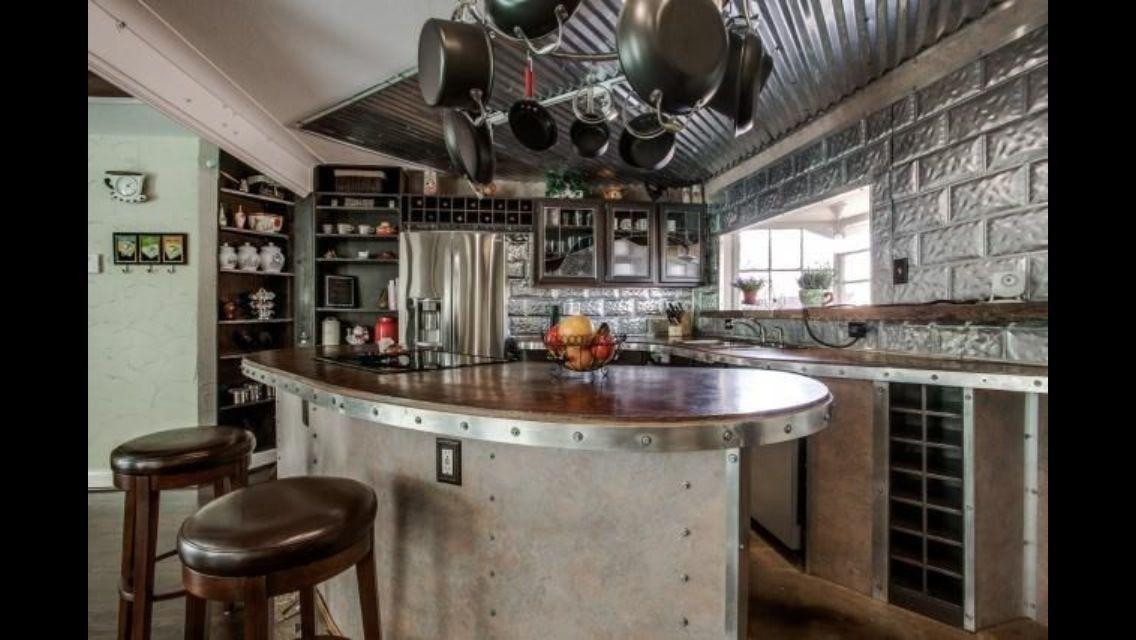 Steampunk kitchen kitchen remodel ideas pinterest for Kitchen designs steampunk
