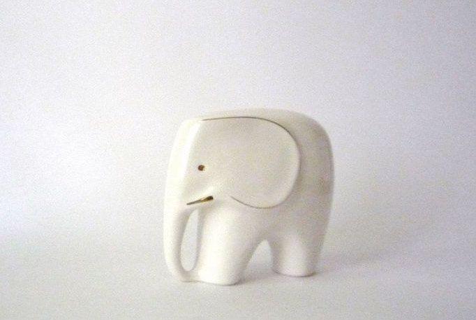Vintage Porcelain Elephant