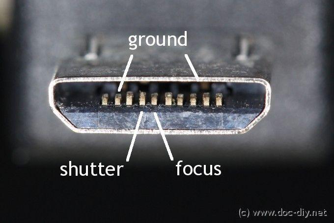 Camera Remote Release Pinout List Remote Camera Dslrs
