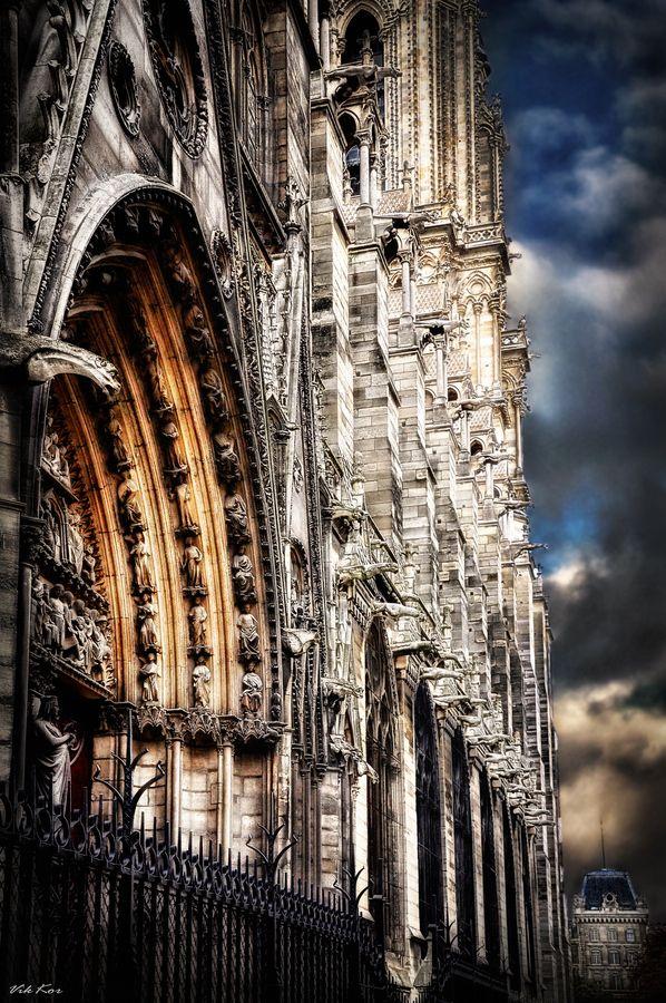 Notre Dame De Paris Photo Viktor Korostynski Paris Cathedral Places To Visit