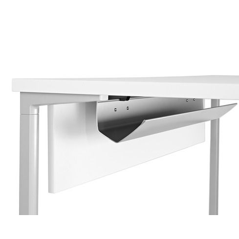 Everywhere Table W/ Wire Manager U0026 Modesty Panel   Herman Miller Herman  Miller, Home