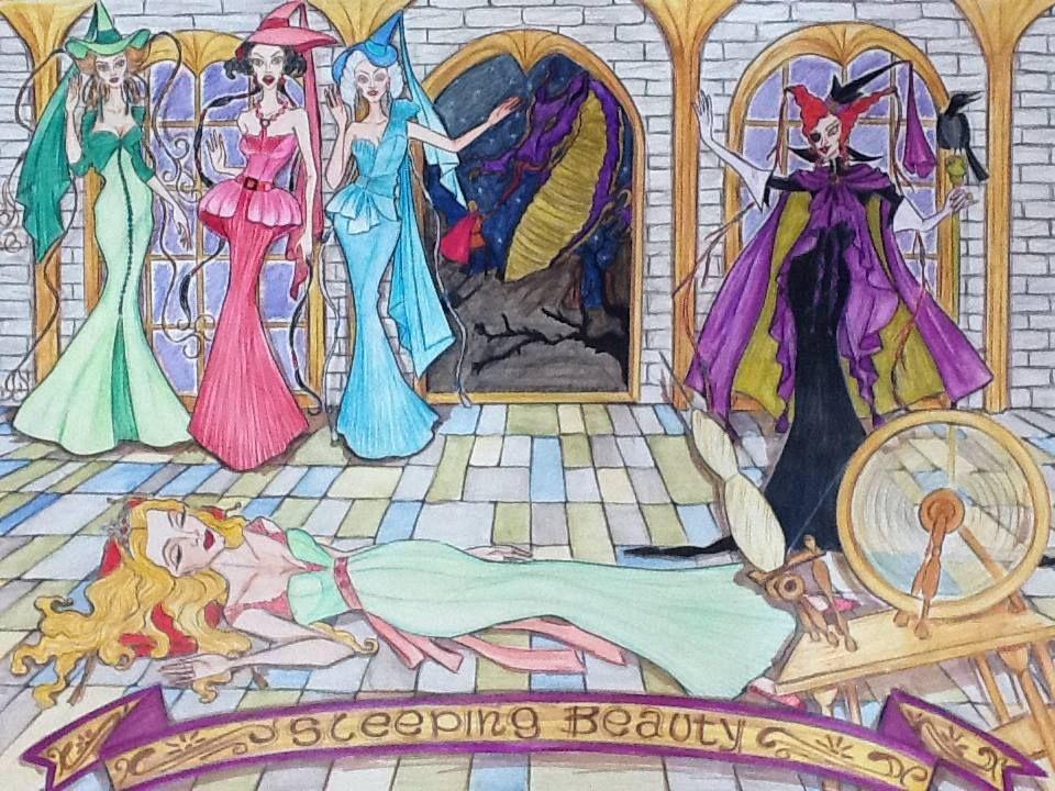 03 - Sleeping Beauty - Bela Adormecida - 2013 - #sleepingbeauty #belaadormecida #paulospazzapan #fairytales