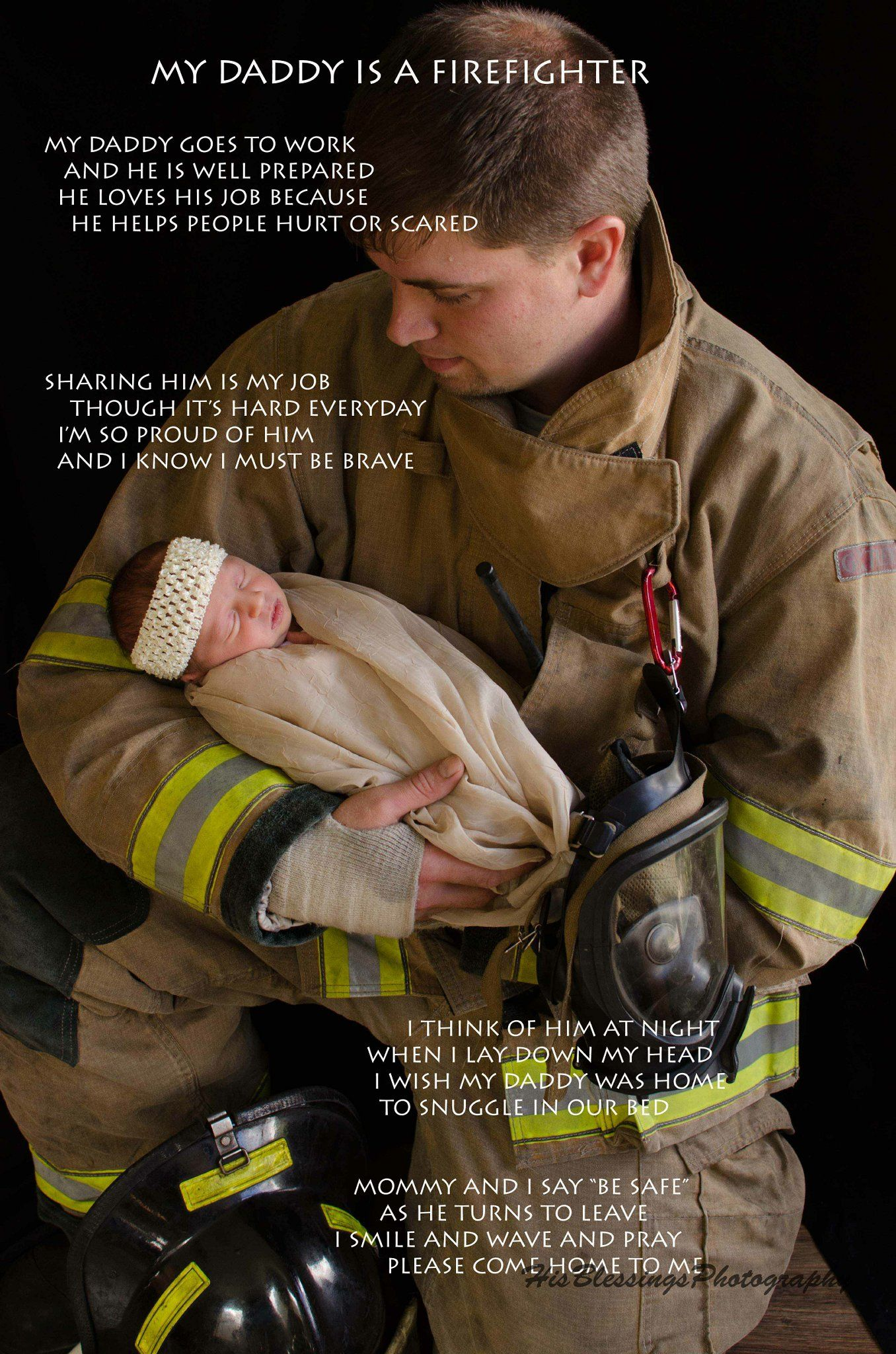 7f302cd4b Newborn baby girl firefighter HIS BLESSINGS PHOTOGRAPHY