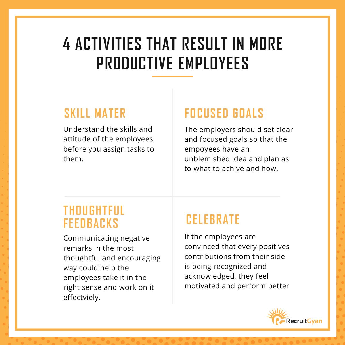 Be Productive with these Tips! Staffing agency