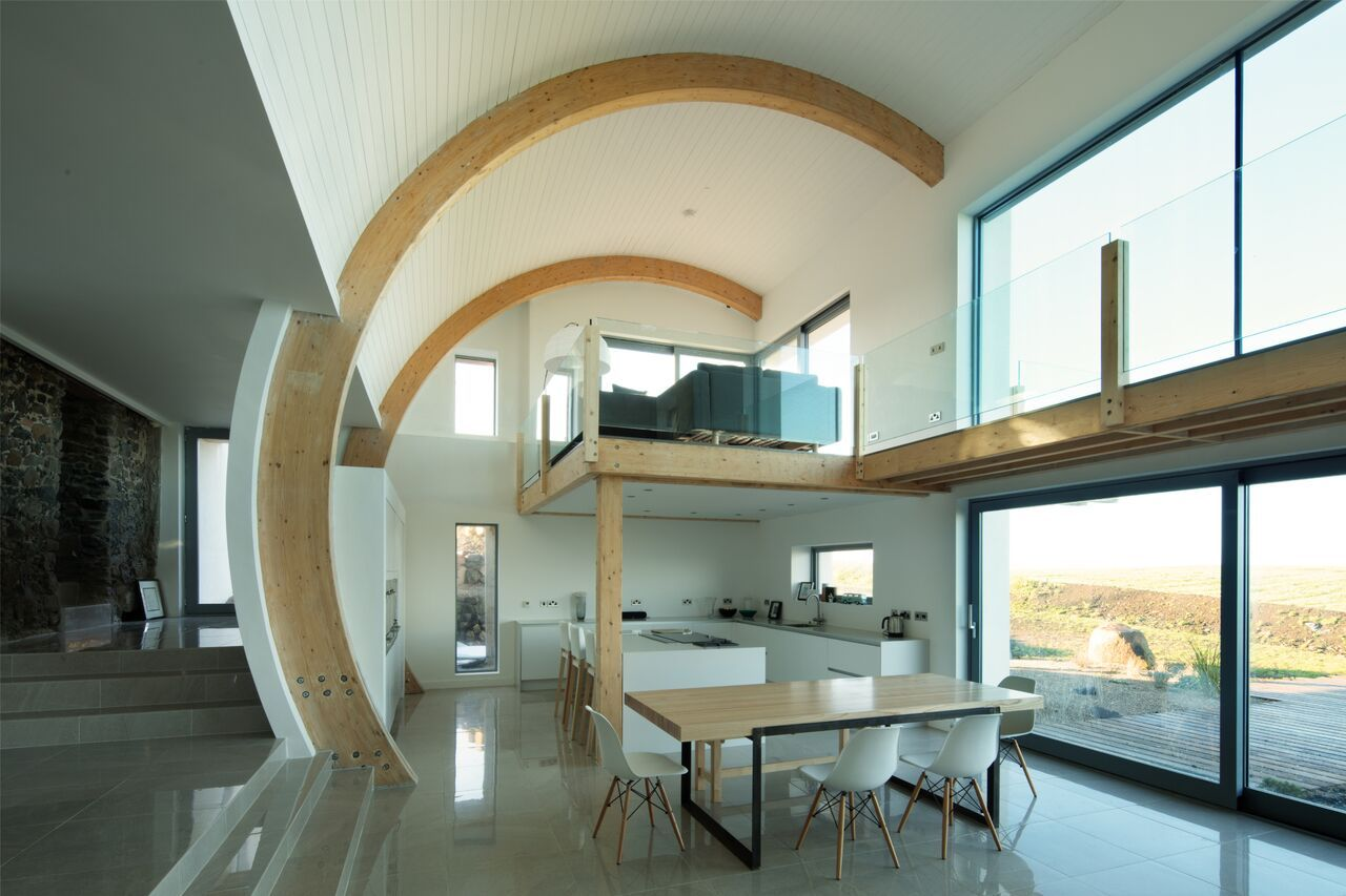Ballymagarry House By 2020 Architects As Featured On Grand Designs  # Muebles Kowalczuk