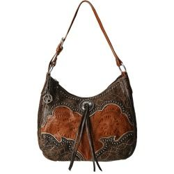 Review American West - Heart Of Gold Large Shoulder Bag (Tan/Grey-Brown) - Bags and Luggage online - Zappos is proud to offer the American West - Heart Of Gold Large Shoulder Bag (Tan/Grey-Brown) - Bags and Luggage: The Heart Of Gold Large Shoulder Bag from American West has the iconic Western styling that will fit perfectly with your authentic style.