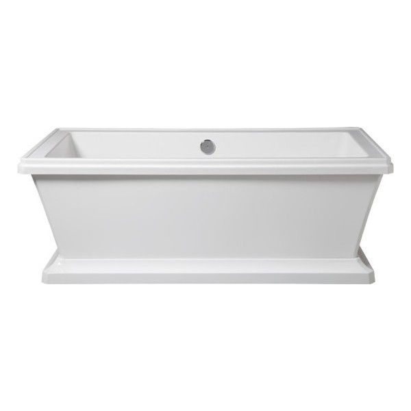 Porcher Lutezia Freestanding Bathtub - contemporary - bathtubs ...