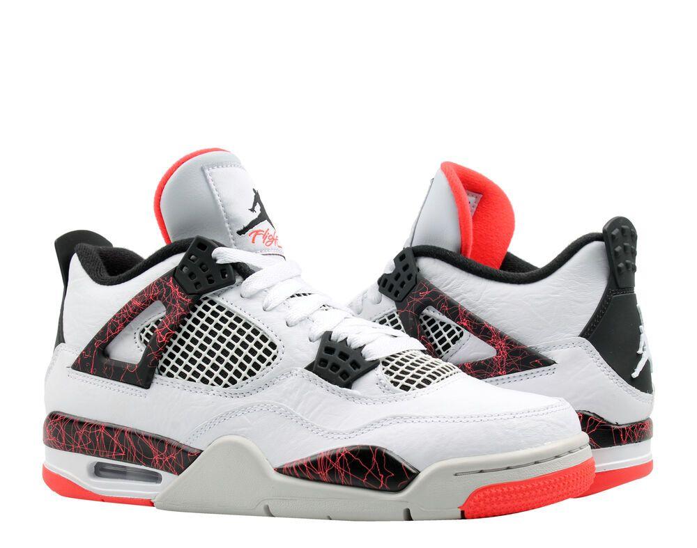 643f200b87ab22 Nike Air Jordan 4 Retro Flight Nostalgia Men s Basketball Shoes 308497-116   shoes  kicks  sneakerheads