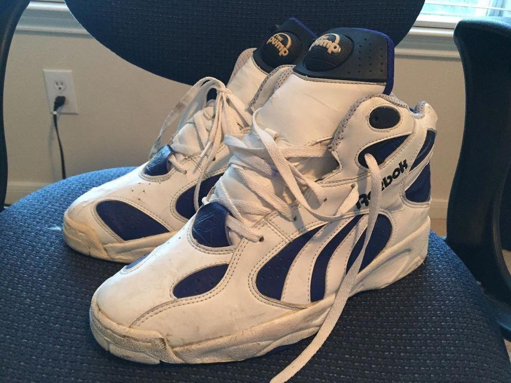 Reebok pumps 1993 Sold as is Sz\u0026#x3a
