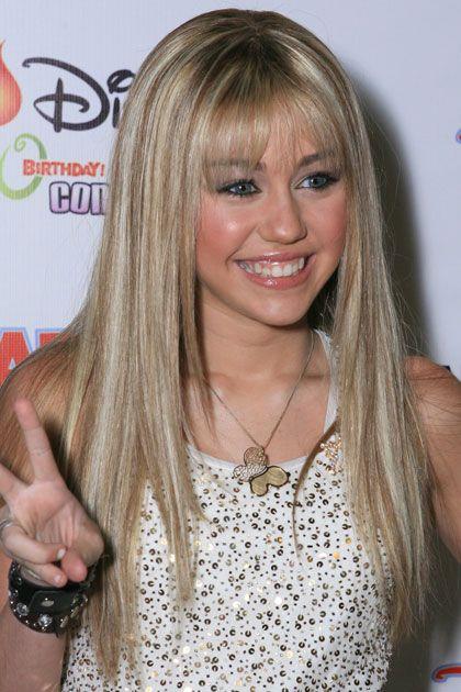Hannah Montana Miley Cyrus Hair Hannah Montana Hair Miley Cyrus