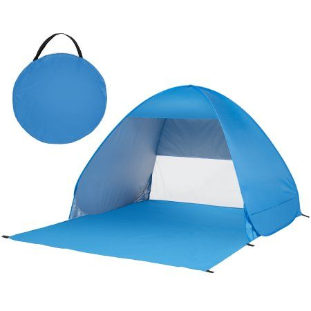 best service 45784 8f85c Best Choice Products Outdoor Easy Pop Up Beach Tent Sun ...