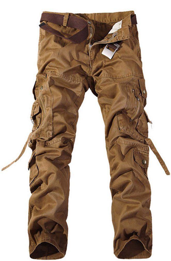 94181aa3980a TDOLAH Herren Cargo-Hose Jeans Armee Camo  Amazon.de  Bekleidung ...